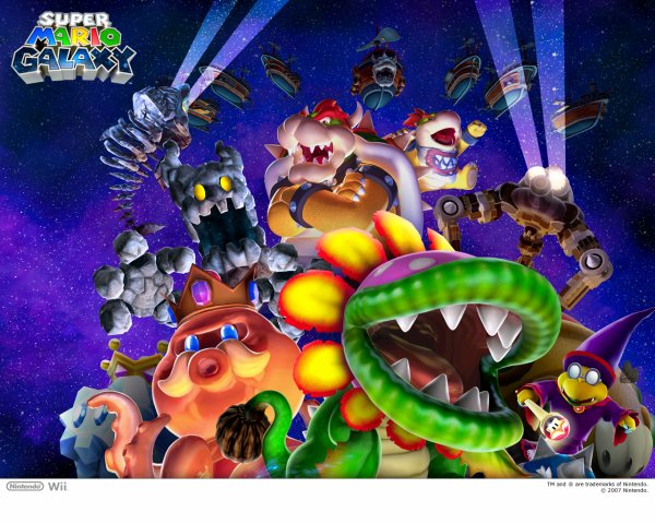 Super Mario Galaxy Original So / Nemesis King Koopa (2008)