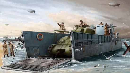 Les Barges Du Débarquement