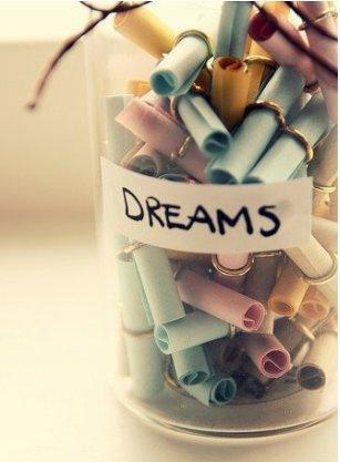 Mon plus grand rêve est devant moi..