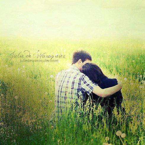 cette histoire d'amour, celle que je veux vivre, je veux la vivre avec toi