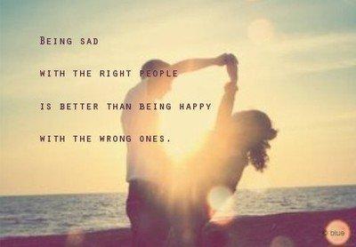 Il y a des jours où on se demande si on ne devrait pas tout arrêter..et d'autres jours on se demande si on ne s'aime pas trop..