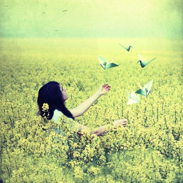 Essais d'attraper ton bonheur à deux mains et quand tu l'auras, tiens le bien parce qu'il a tendance à partir vite