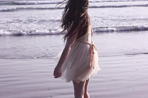 Mon seul souhait, c'est d'être heureuse.