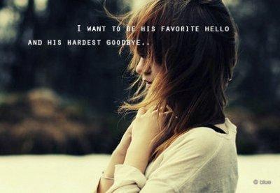 J'ai toujours dis qu'il ne faut jamais regretter dans la vie, mais en se moment je ne vis que des regrets.