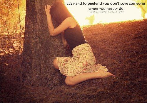 Je suis cette fille stupide qui ne lâchera jamais prise. Je suis cette fille pour qui il y aura toujours un espoir.