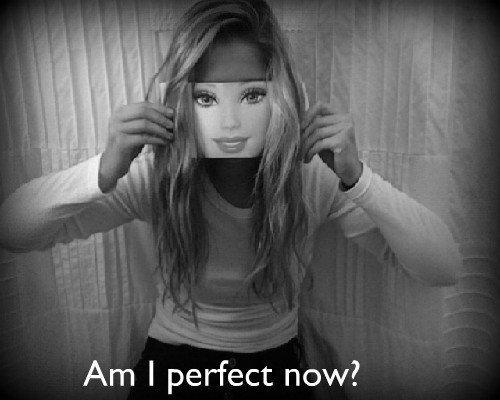 Tu sais quoi? Je suis parfaite. Oui, je suis parfaite avec tous pleins de petits défauts.