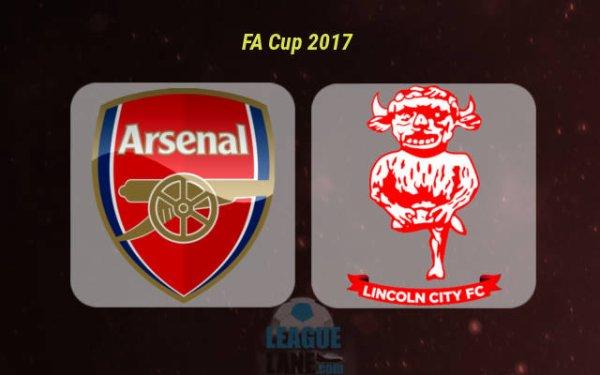 FA CUP ARSENAL VS LINCOLN CITY