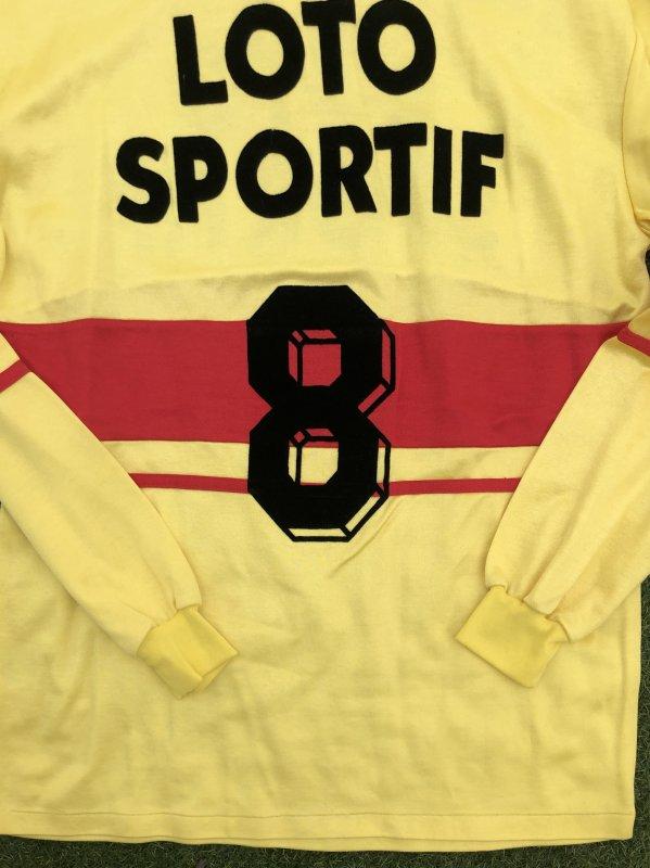 Maillot Coupe de France RC LENS 1988-1989