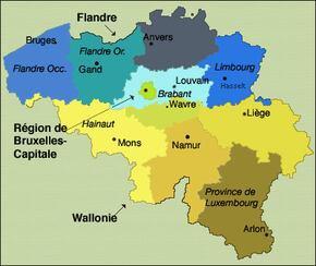 La Belgique, ma terre, mon pays