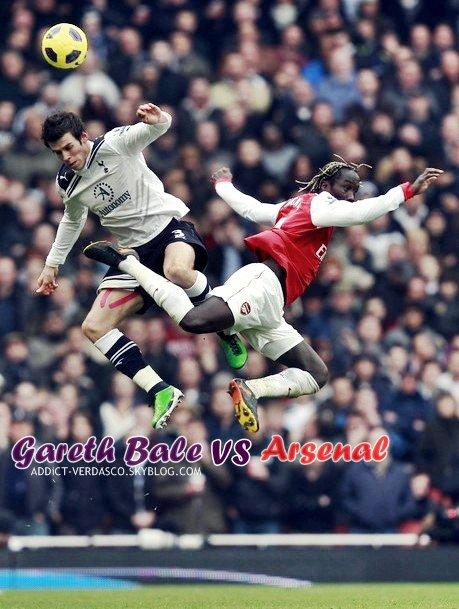 Gareth Bale Vs Arsenal