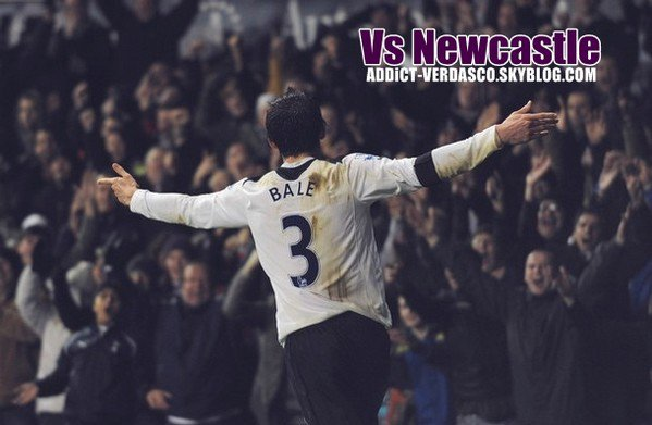 Gareth Bale Vs Newcastle