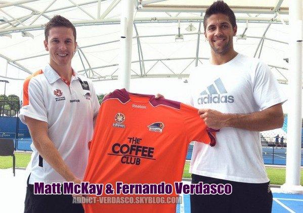 Matt McKay & Fernando Verdasco