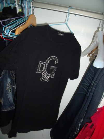 T-shirt D&G ( pas de taches ! )