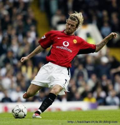 Manchester united skyblog officiel de david beckham - Manchester united david beckham wallpaper ...
