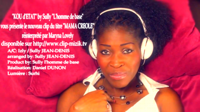 "Clip Maryna Lovely ""Mama créole"" disponible"