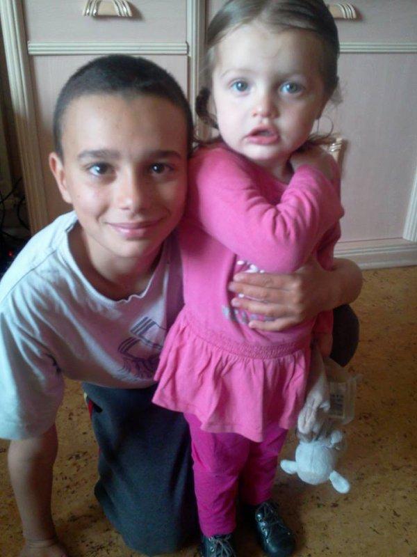 mon fils mehdi et sa soeure helena
