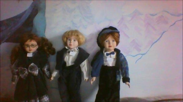 3 de mes poupées