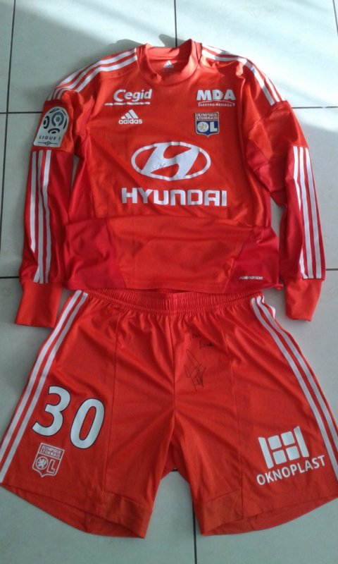 Maillot Domicile OL Mathieu GORGELIN