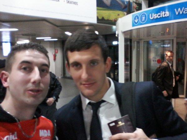 Mathieu Gorgelin et moi à Turin