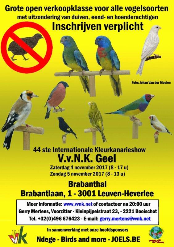 Bird sales 2017