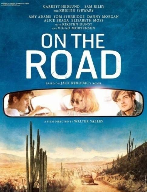 On the road  - affiche