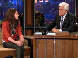 Agenda !  Kristen Stewart au Talk Show de Jay Leno le 5 Novembre Prochain