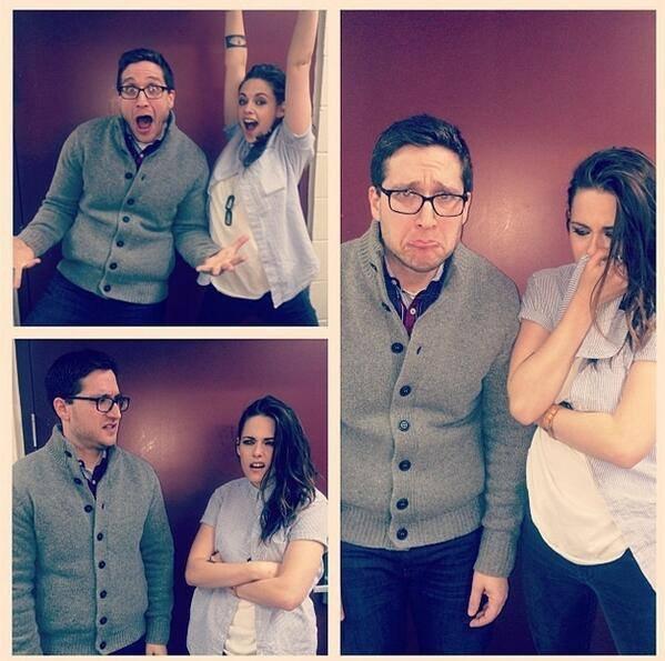 "Kristen Stewart ""Sundance Festival 2014"" retrouvaille avec Josh Horowitz"