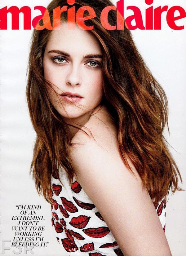 Kristen Stewart Magasine = Marie-Claire