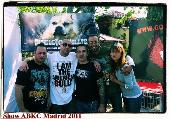 Show ABKC Madrid 2011.