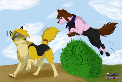 trensformation en chien groupe  n 6