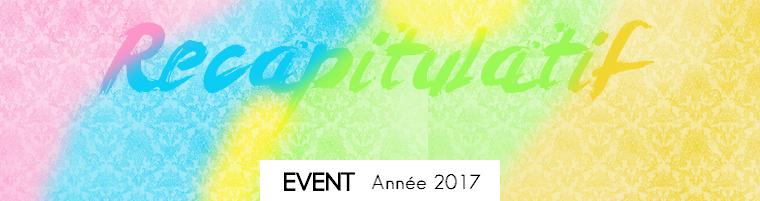 Event | Récapitulatif de l'année 2017