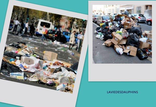 et Marseille pendant les grèves !