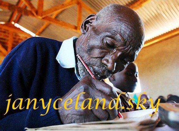 Le plus vieil écolier du monde