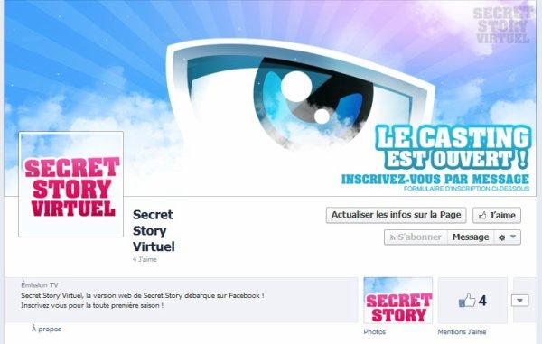 https://www.facebook.com/SecretStoryVirtuel