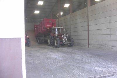 case ih 1255 xl et benne brimont 18 tonnes