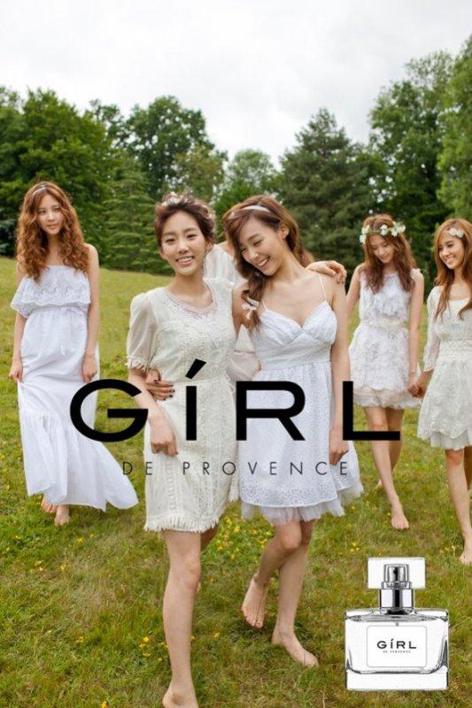 Girls' Generation dévoile les publicités réalisées pour « Girl de Provence »