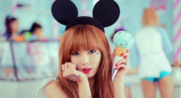 Hyuna (4MINUTE) : « Grâce à 4minute, je suis en mesure de faire des activités en solo… »
