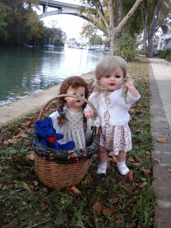 Un automne amusant sur les bords de Marne