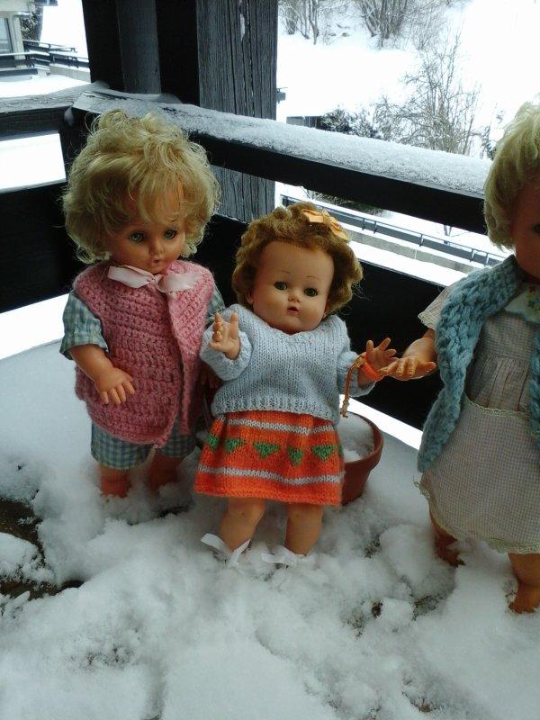 Les nouvelles amies de vacances de Béatrice !