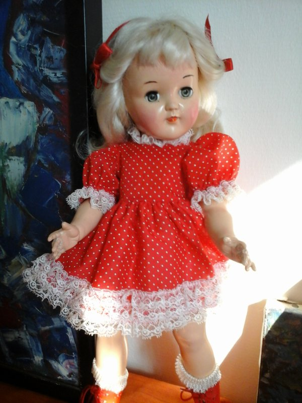 Voici Judy ! (Vintage Ideal Toni Doll - 1949-1953)