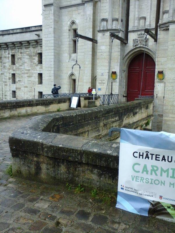 Vincennes sous la pluie ce matin !