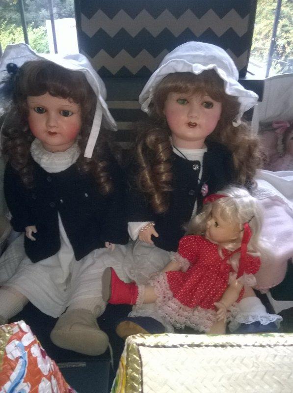 Mes poupées installées !