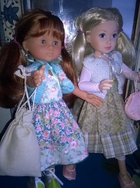 Clara et Jolina !