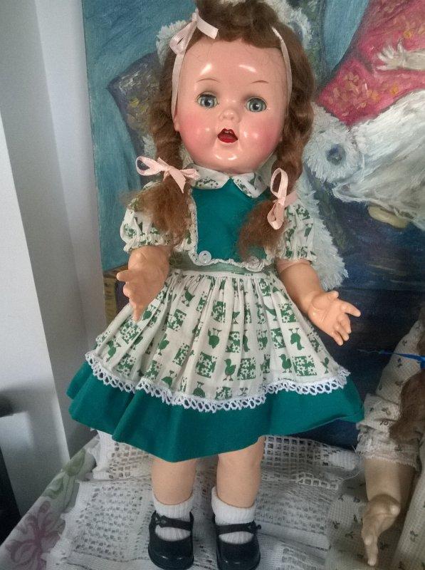 Ma petite Saucy dans sa robe d'origine !