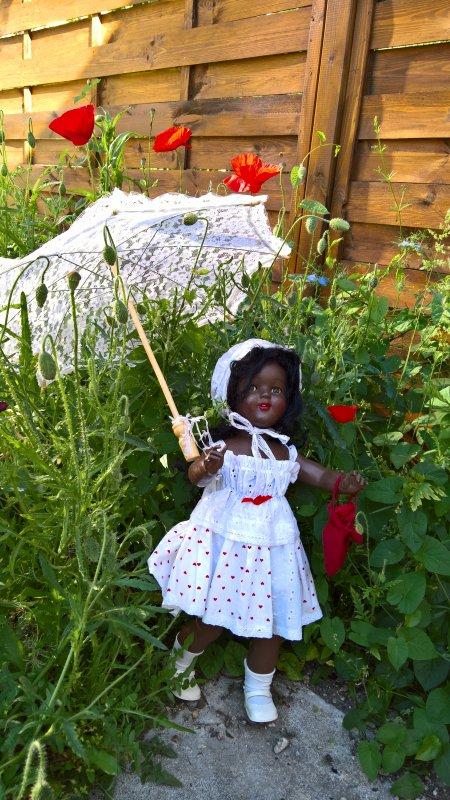 Céleste au jardin !