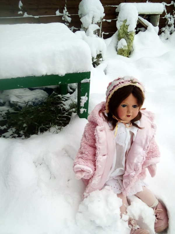 Louise en hiver !