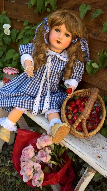 La cueillette des fraises !