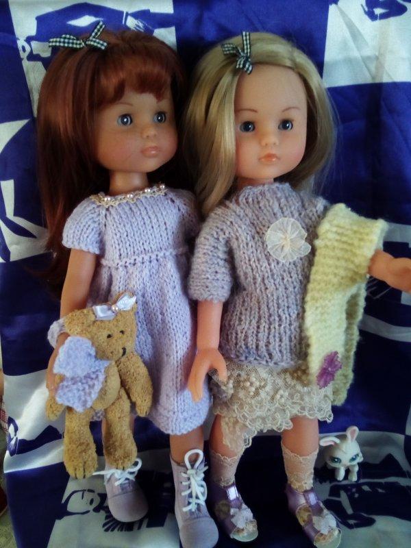 """Camille et Clara """"duo de parme"""" !"""
