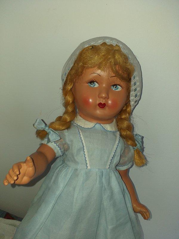 Caroline en bleu !