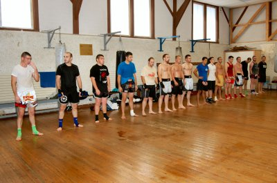 1ére série de photos du stage de KICK BOXING (DIVES/MER)